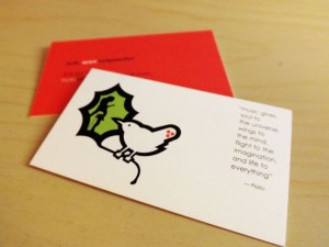 Picture of Holly Wren Business Card.