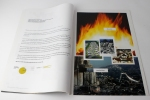 Picture of Mercury Insurance Annual Report inside spread number 3.