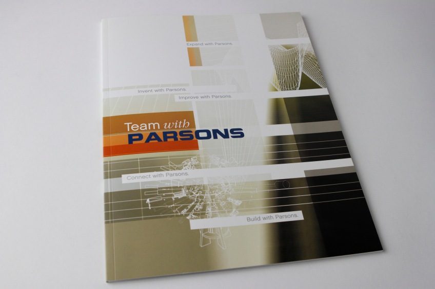 Parsons capabilities brochure cover.