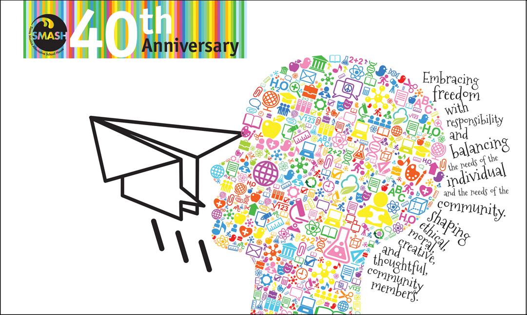 40th anniversary banner deangelis design